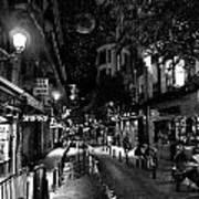 Madrid Side Street Poster