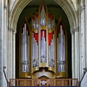 Magdeburg Cathedral Organ Poster