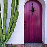 Magenta Door Poster