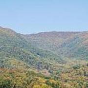Maggie Valley In The Fall Poster