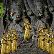Magic As The Tree People Celebrate Health Poster