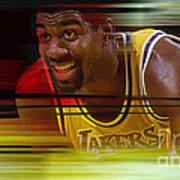 Magic Johnson Poster