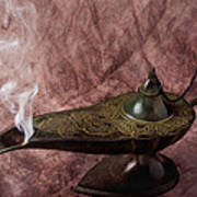 Magic Lamp Poster by Garry Gay
