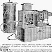 Magic Lantern, 1900 Poster