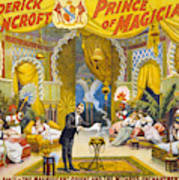 Magician Poster, C1895 Poster