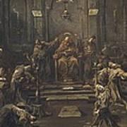 Magnasco, Alessandro 1667-1749 Poster
