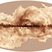 Magnetic Field Of Milky Way Galaxy Poster