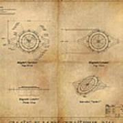 Magneto System Blueprint Poster