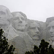 Magnificent Mount Rushmore Poster