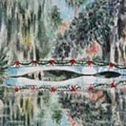 Magnolia Christmas Poster