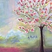 Magnolia Tree Poster