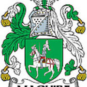 Maguire Coat Of Arms Irish Poster