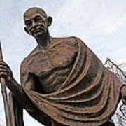 Mahatma Gandhi In Washington Poster