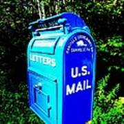 Mail Box Poster by Will Boutin Photos