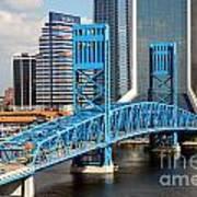 Main Street Bridge Jacksonville Florida Poster