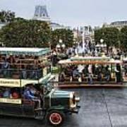 Main Street Transportation Disneyland Poster