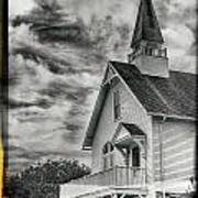 Maine Coast Church Poster