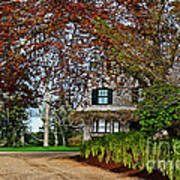 Maine Cottage In Spring Poster