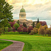 Maine State Capitol Building Poster