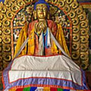 Maitreya Buddha Erdene Zuu Monastery Poster