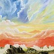 Majestic Clouds Poster
