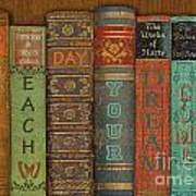 Make Each Day-books Poster