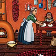 Making Tortillas Poster