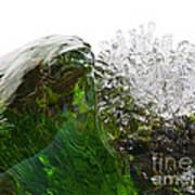 Malachite Water Poster