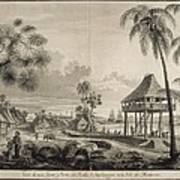 Malaspina Expedition. Philippines 1792 Poster