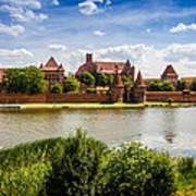 Malbork Castle Poster