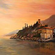 Malcesine Lake Garda Italy Poster