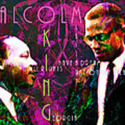Malcolm And The King 20140205m68 With Text Poster by Wingsdomain Art and Photography