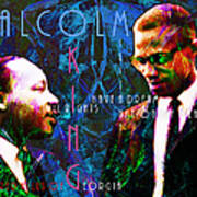 Malcolm And The King 20140205p180 With Text Poster by Wingsdomain Art and Photography