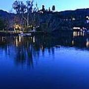 Malibu Lake Soft Focus Poster