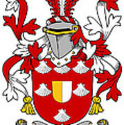 Mall Coat Of Arms Irish Poster