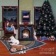 Mallory Christmas Poster