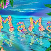 Mama Ocean Poster