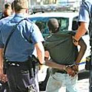 Man Arrested. Poster