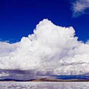 Manasarovar Mountain Lake Panoramic Poster