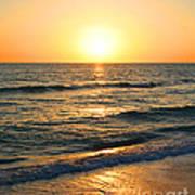 Manasota Key Sunset Poster