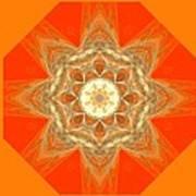 Mandala 014-2 Poster