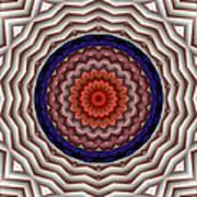 Mandala 10 Poster by Terry Reynoldson
