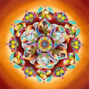 Mandala For Moms Poster