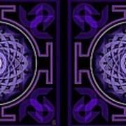 Mandala Hypurplectic - Stereogram Poster