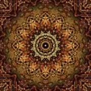 Mandala Of Bones Poster