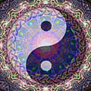 Mandala Yin Yang Poster