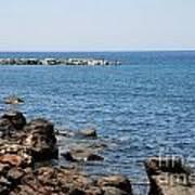 Mandraki Coastline Nisyros Poster