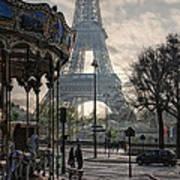 Manege Parisienne Poster