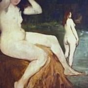 Manet, �douard 1832-1883. Bathers Poster