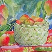 Mango Harvest Poster by Kathleen Rutten
